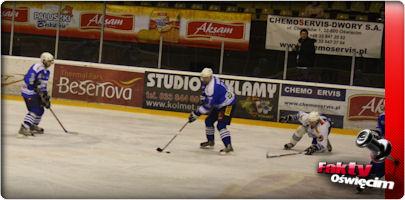 Hokej. Porażka Aksamu Unii z Energą Stoczniowiec