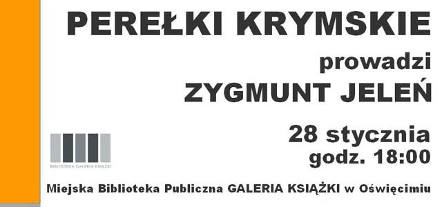 OŚWIĘCIM. Perełki Krymu w Galerii Książki