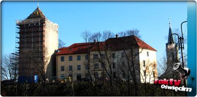 OŚWIĘCIM. Remont wieży zamkowej się przedłuża