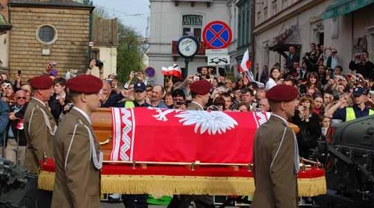 Pożegnanie pary prezydenckiej w Krakowie