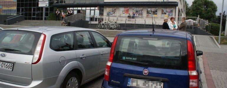 Karne łosie za głupie parkowanie