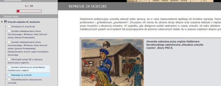 Ucieczki z KL Auschwitz w Internecie