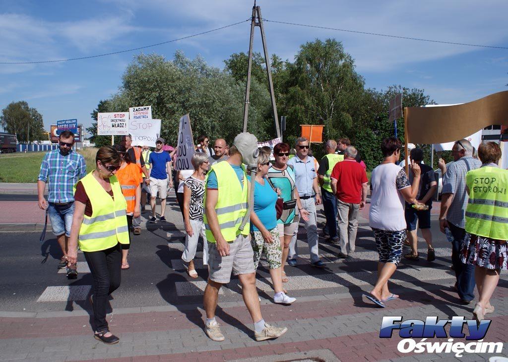 Oświęcim, Tacon, stop fetorowi, petycja, protest