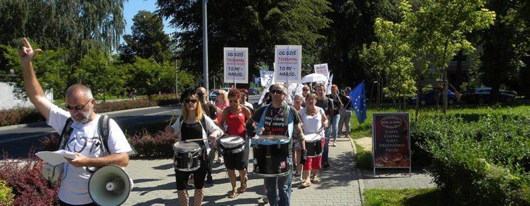 Kodowcy przeszli ulicami Oświęcimia – FOTO