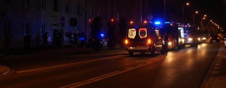 Straż, policja, pogotowie i… przypalona potrawa – FILMY, FOTO