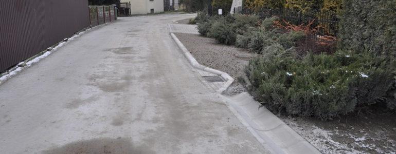 Przedzieleń z betonu wałowanego – FOTO