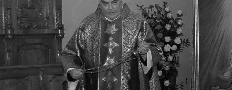 Ksiądz kanonik Jerzy Brońka odszedł do Domu Pana