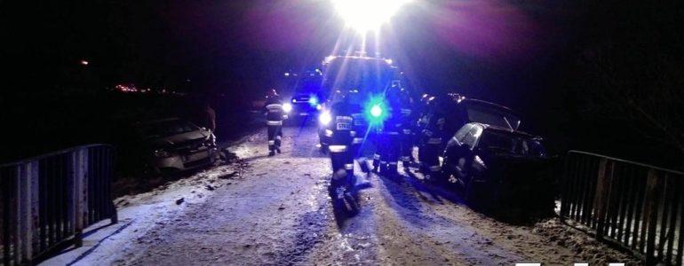 Wypadek w Porębie. Wśród rannych są dzieci – FOTO