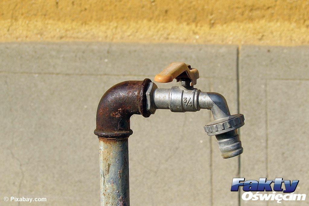 Chełmek, wodociąg, awaria, usterka, woda