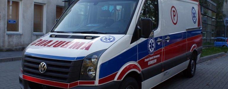 Wypadek w Broszkowicach. Utrudnienia i ruch wahadłowy