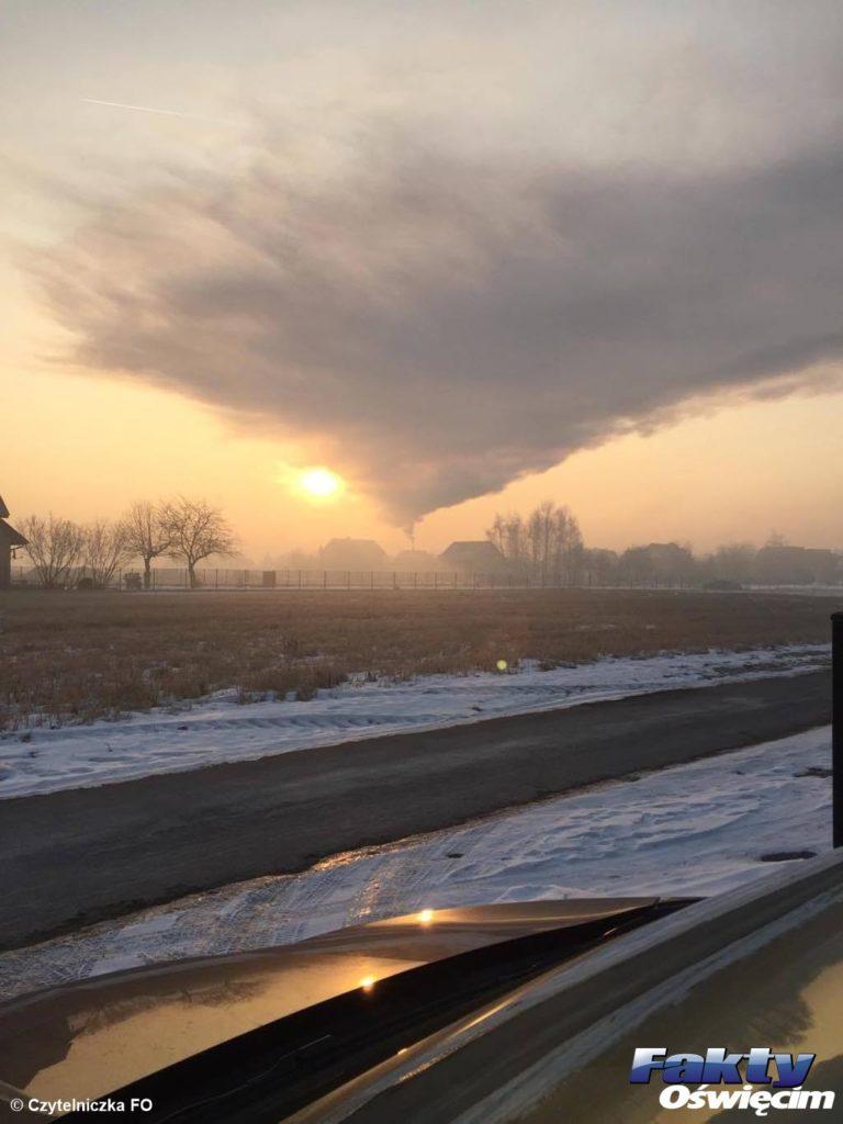 Oświęcim, smog, powietrze, dym, zanieczyszczenie, alert