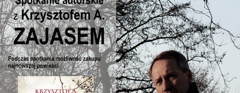 Krzysztof Zajas zagości w Oświęcimiu