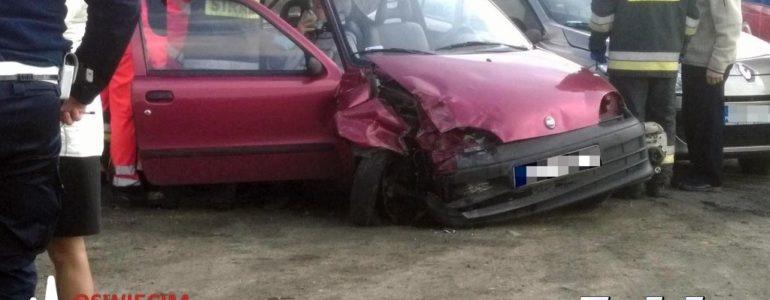 Zderzenie samochodów w Babicach – FOTO