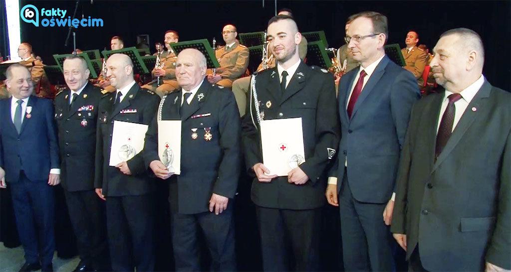 W Krynicy Zdroju odznaczono honorowych dawców krwi z wszystkich klubów HDK w Małopolsce. Trzecie miejsce zajęli nasi strażacy w kategorii Najaktywniejsza Jednostka PSP.