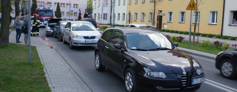 Karambol na Olszewskiego – FOTO