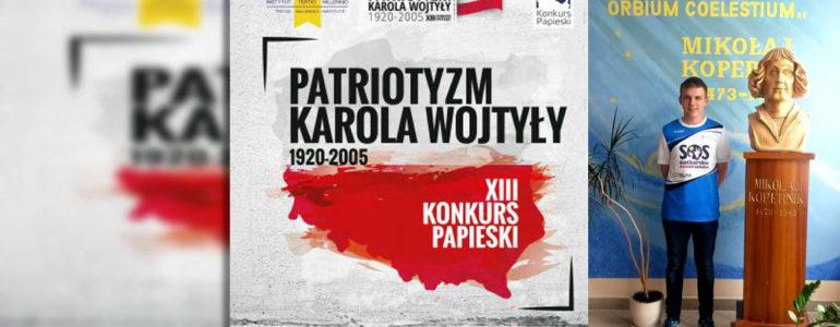Kacper Woźniak w finale Konkursu Papieskiego