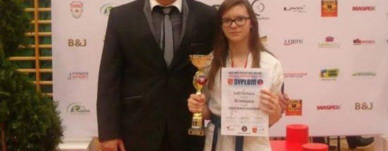 Julia Chmura trzecia na mistrzostwach Polski