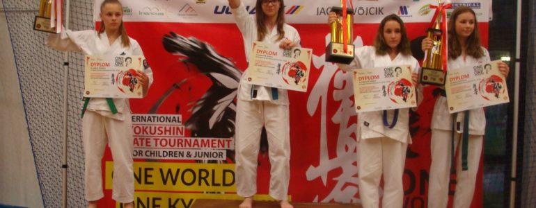 Julia Chmura wygrała międzynarodowy turniej Kyokushin
