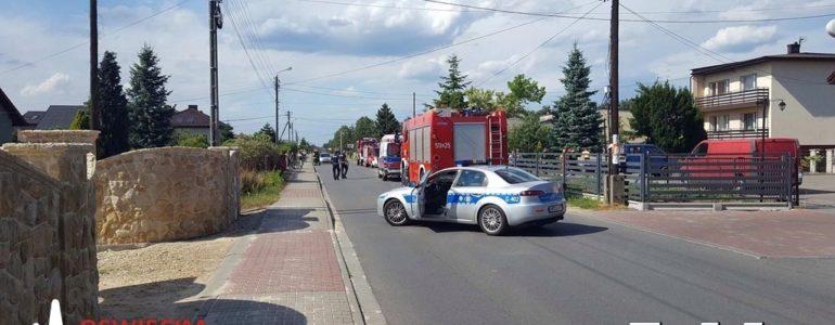 Droga przez Gorzów zablokowana – Wypadek!
