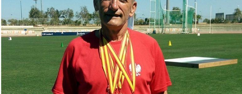 Andrzej Haj zdobył pięć medali w Hiszpanii – FILM, FOTO