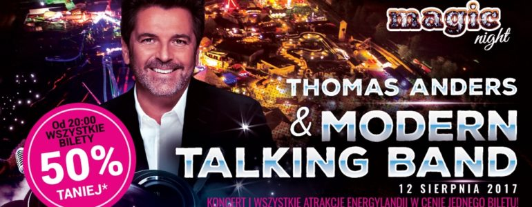 Thomas Anders wystąpi w Energylandii