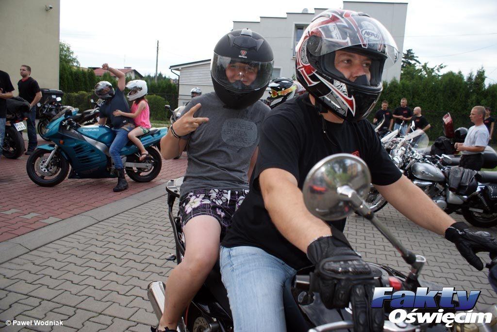Rajsko, Oświęcim, Free Oświęcim, motocykle, motocykliści, wakacje, wioska dziecięca