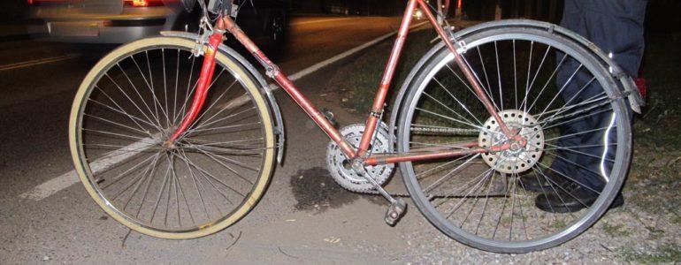 Potrąciła rowerzystę podczas wyprzedzania