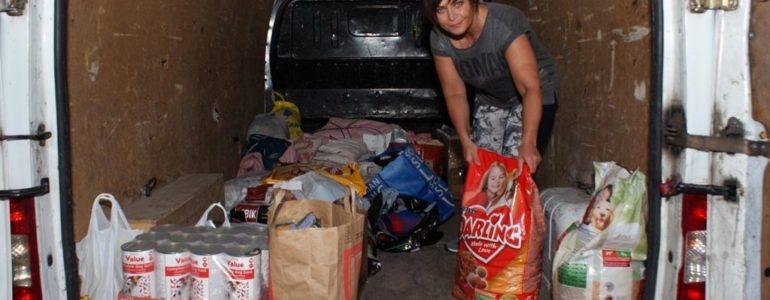 Zebraliśmy ponad 700 kg darów dla Staruszkowa