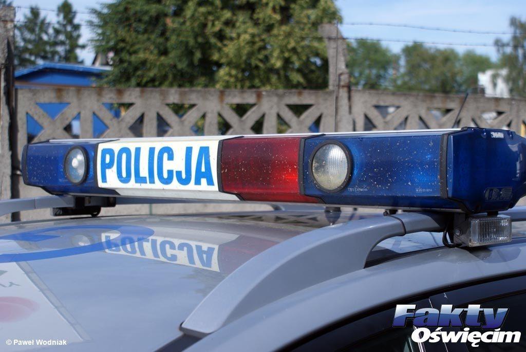 Kęty, policja, straż miejska, samobójca, samobójstwo, policjanci, strażnik, strażnicy