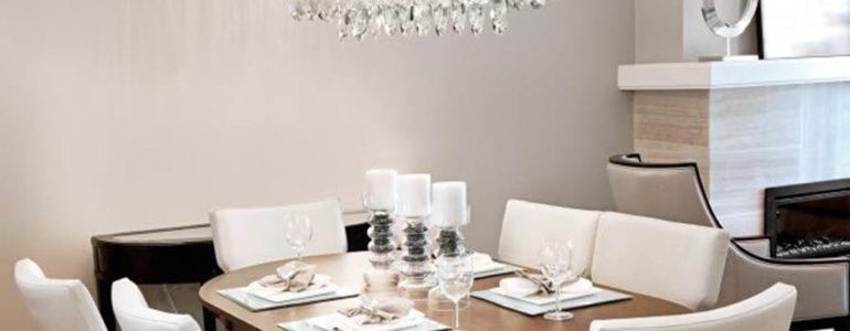 Oświetlenie w stylu Glamour – lampy, żyrandole i plafony