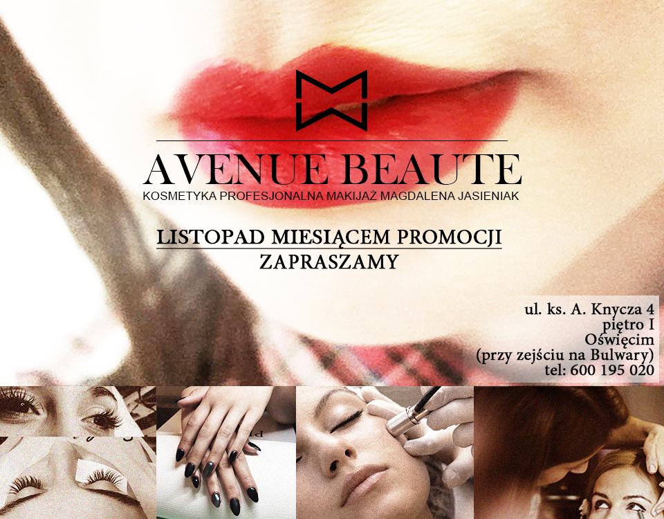 Salon kosmetyczny Avenue Beauté zaprasza do wzięcia udziału w konkursie w Faktach Oświęcim. Do wygrania zabieg na twarz, który jesienią niewątpliwie ożywi twarz.