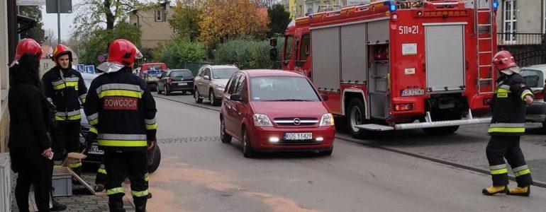 Paliwo na ulicy Górnickiego – FOTO