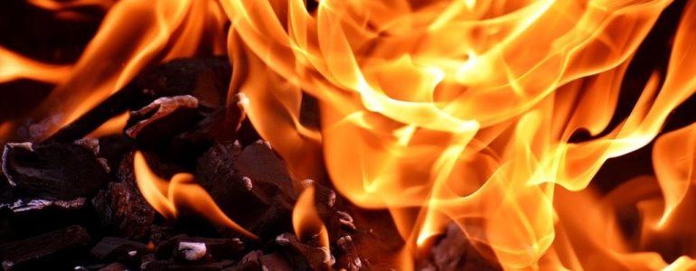 W bloku zapalił się piecyk gazowy
