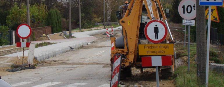Ulica świętej Barbary zamknięta do połowy grudnia