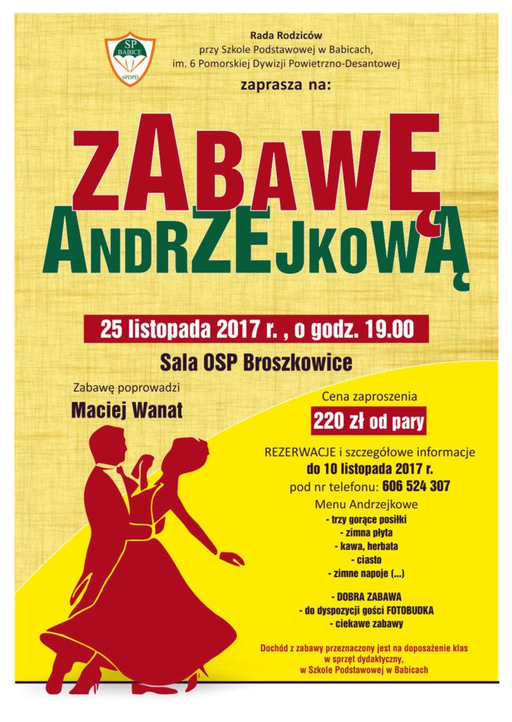 Zbliżają się Andrzejki. Rada rodziców działająca przy szkole podstawowej w Babicach zaprasza na imprezę w ostatnią sobotę listopada.