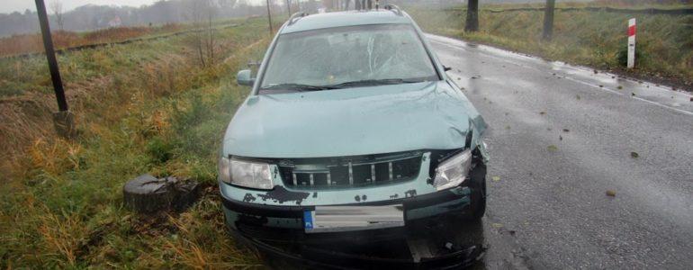 Pieszy zginął na drodze w Osieku – FOTO