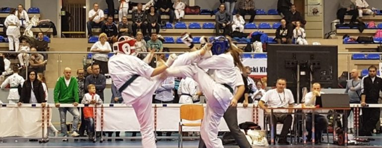Bardzo dobre wyniki karateków