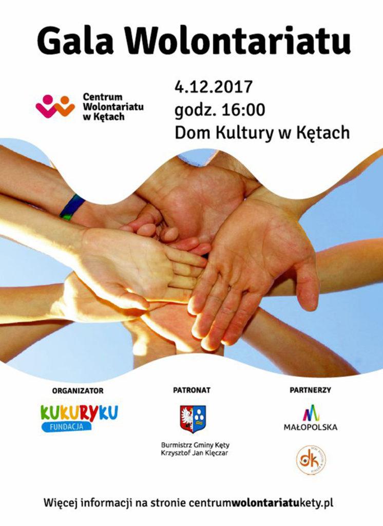 Dzisiaj Światowy Dzień Wolontariusza. Z tej okazji o godzinie 16 rozpocznie się Gala Wolontariatu. Organizatorem gali jest Fundacja Kukuryku, która prowadzi w naszym mieście Centrum Wolontariatu.