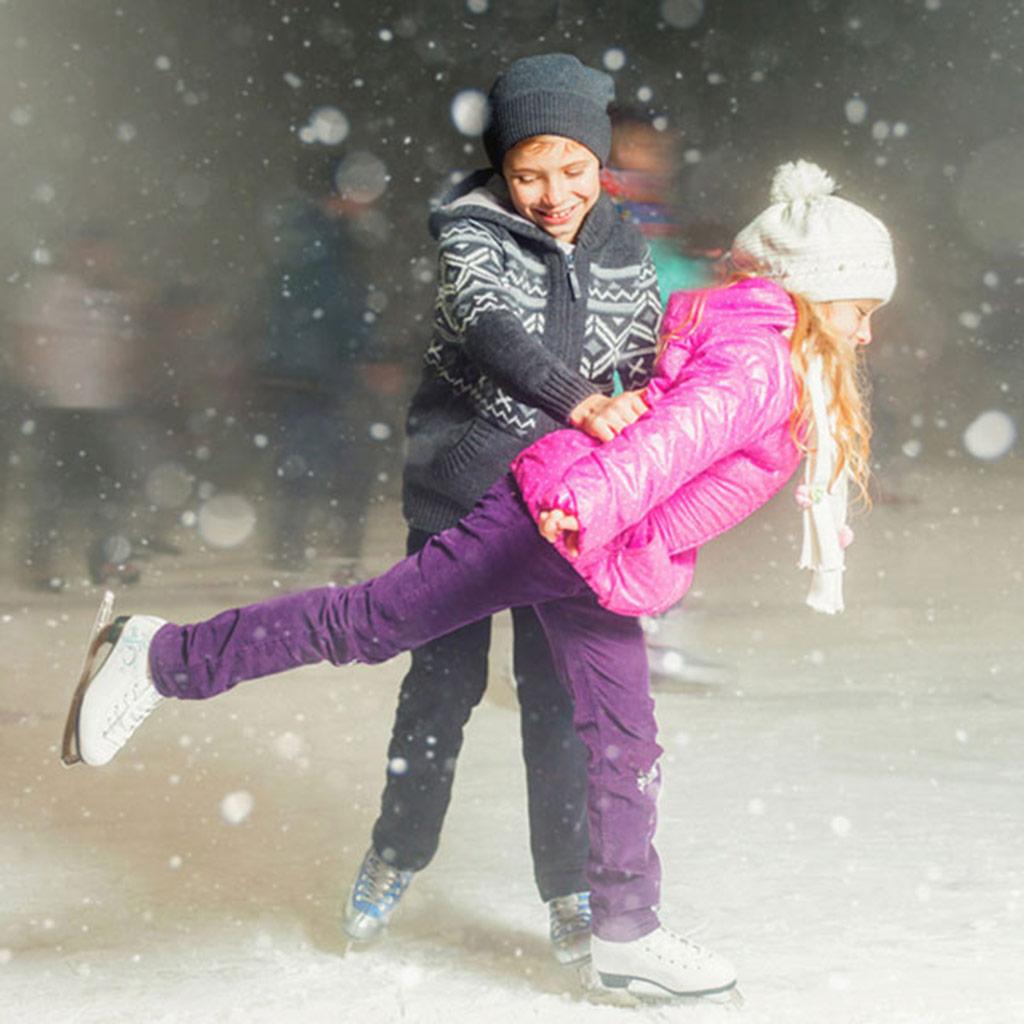 Lodowisko w Inwałd Parku zaprasza na zimowe szaleństwo
