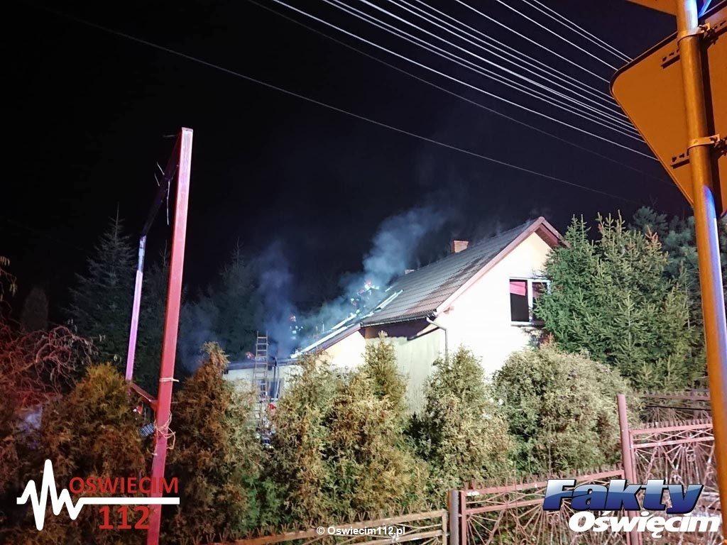 Cztery zastępy strażackie walczyły z pożarem, który wybuchł w kotłowni domu przy ulicy Jagiełły w Oświęcimiu. Ratownicy szybko opanowali sytuację.