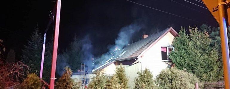 Pożar w kotłowni. W akcji cztery zastępy strażackie – FOTO