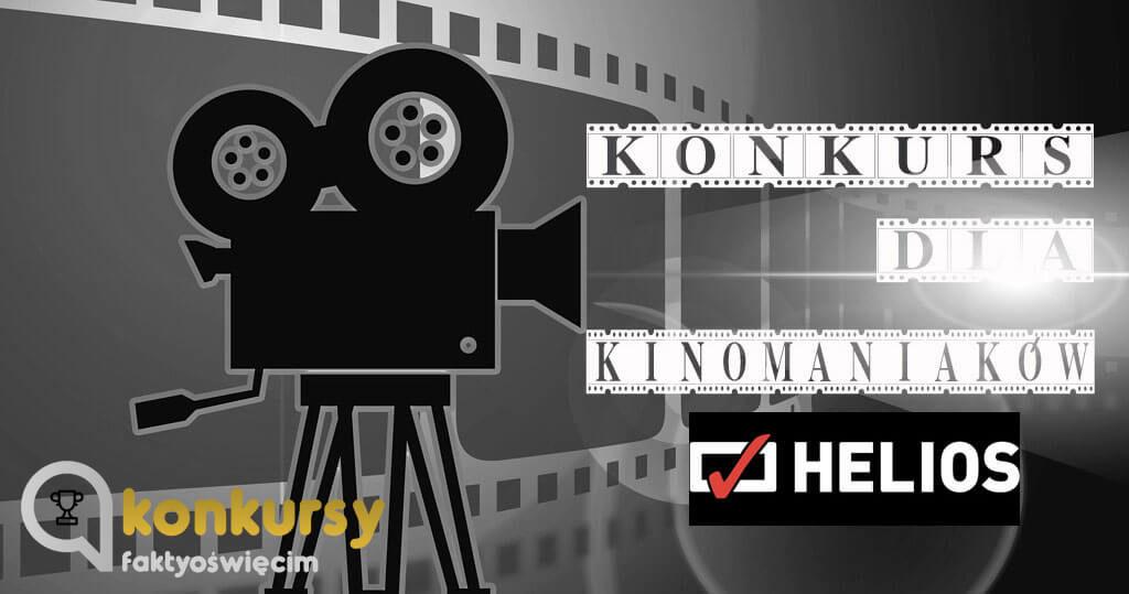 W każdą sobotę rozdajemy zaproszenia do kina Helios w Bielsku Białej.