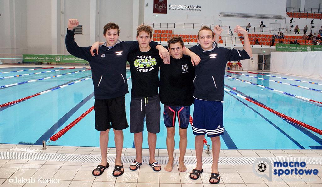 Wspaniałymi osiągnięciami zakończyły się Zimowe Mistrzostwa Seniorów i Młodzieżowców w Łodzi dla reprezentantów Szkoły Mistrzostwa Sportowego w Oświęcimiu.