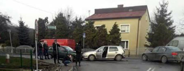 Znowu zderzyły się trzy samochody