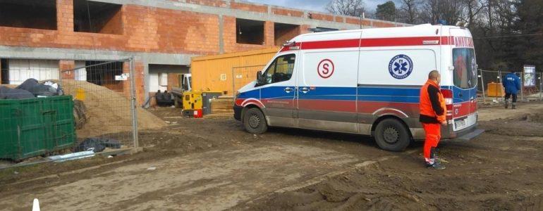 Wypadek na budowie. Nie żyje pracownik