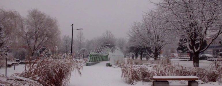 Śnieży w Oświęcimiu – FOTO