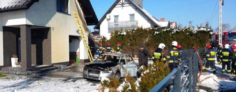 Dzisiaj płonęły samochód, dom i warsztat – FOTO