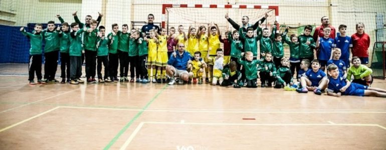 Pięć drużyn z powiatu oświęcimskiego zagrało w Krakowie – FOTO