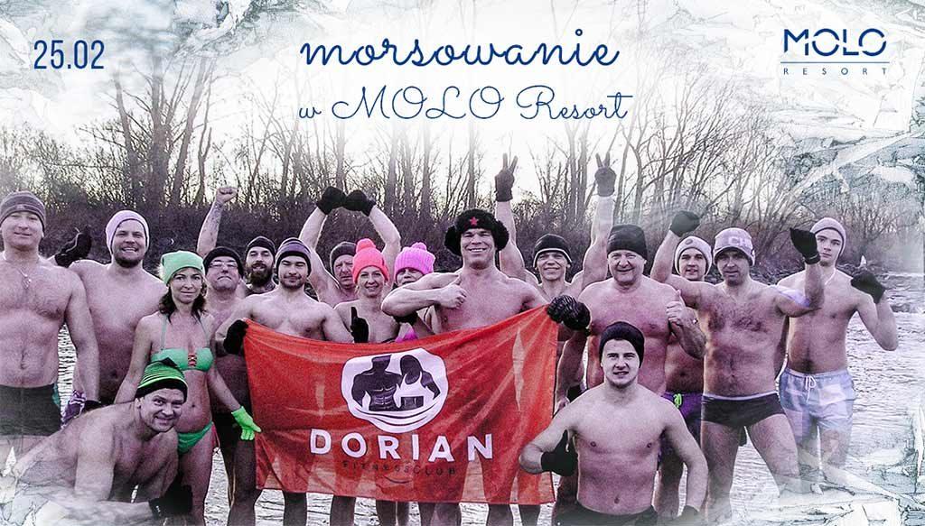 W niedzielę 25 lutego o godzinie 12 Molo Resort w Osieku rozpocznie się w morsowanie z Dorian FitnessClub. Można się przyłączyć do wielbicieli zimnych kąpeli.