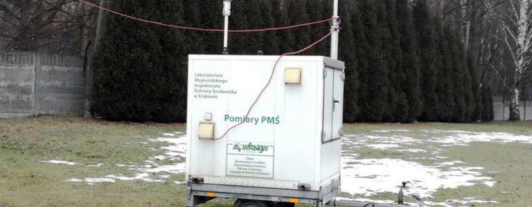 Stacja kontroli jakości powietrza już działa